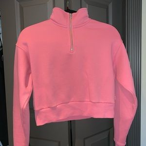 TNA Warm-Up Crop Sweater